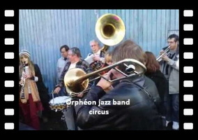 Orphéon jazz band circus